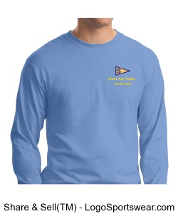 Long Sleeve Hanes T-Shirt Design Zoom